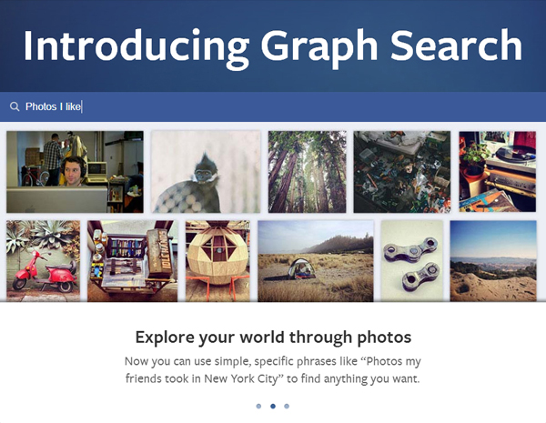 Lancement de Graph Search de Facebook