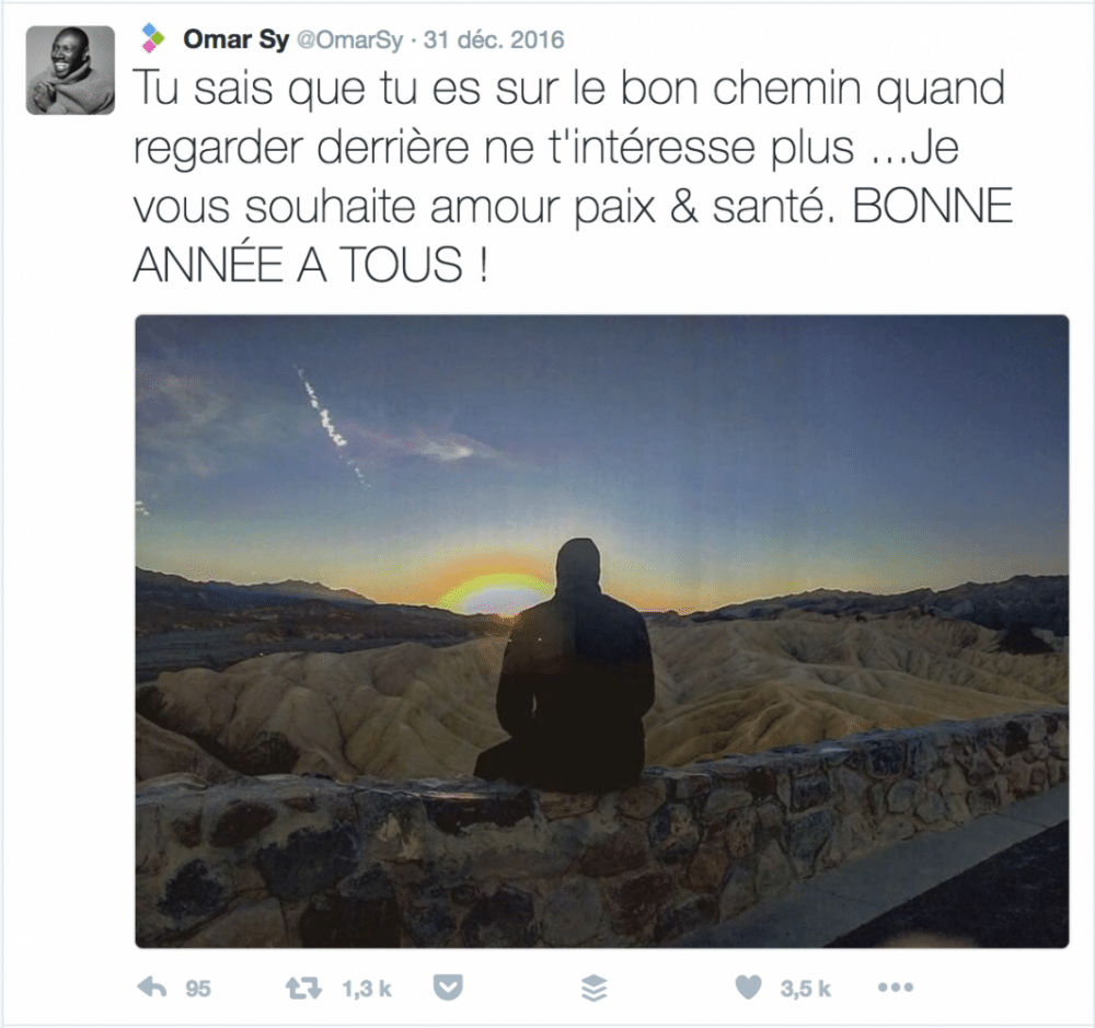 Voeux Twitter Omar Sy